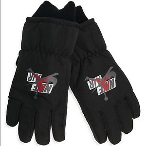 JORDAN Youth Ski 3M Insulated Gloves - Black